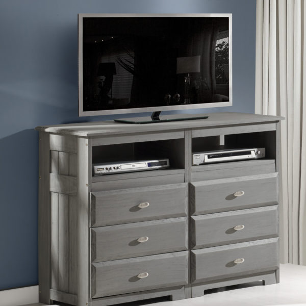 Discovery World Möbel Charcoal Media Chest - KFS STOR
